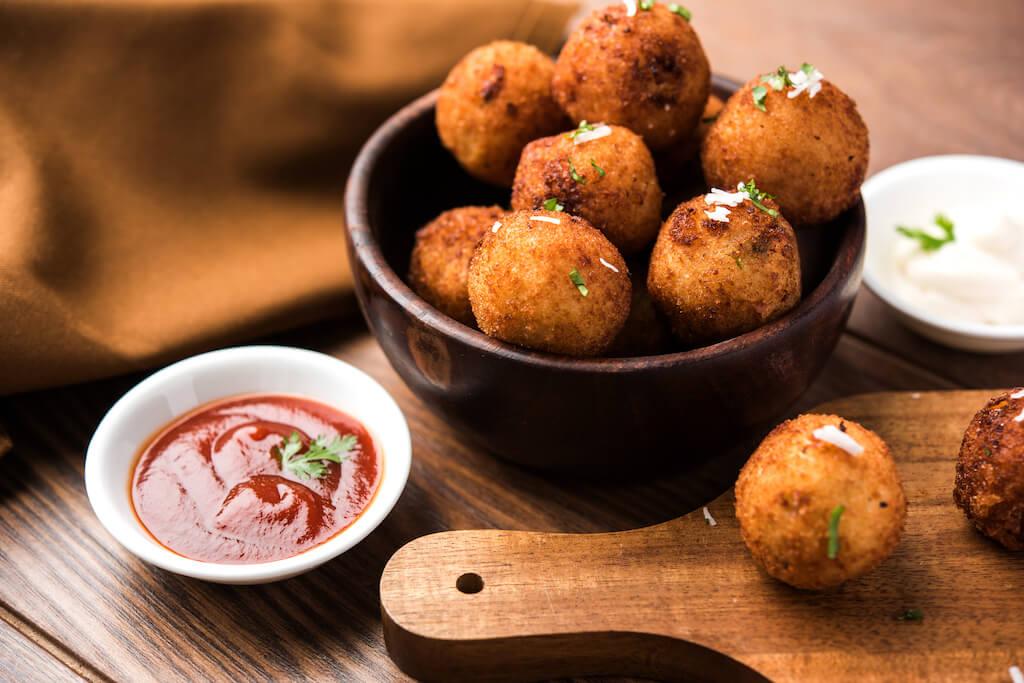 Neapolské zemiakové krokety
